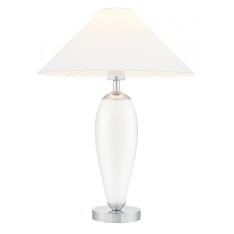 Rea Standing Lamp White / Chrome / White