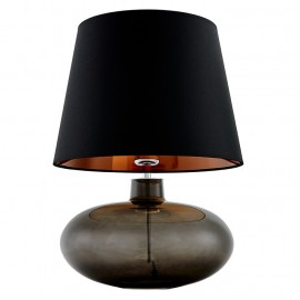 Sawa Standing Lamp Graphite / Chrome / Black-Copper Lampshade