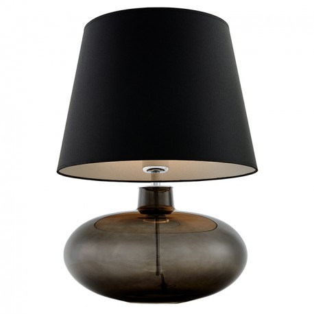 Sawa Standing Lamp Graphite / Chrome / Black-Silver Lampshade