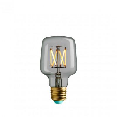Decorative light bulb Plumen Wilbur Clear Glass Warm Light