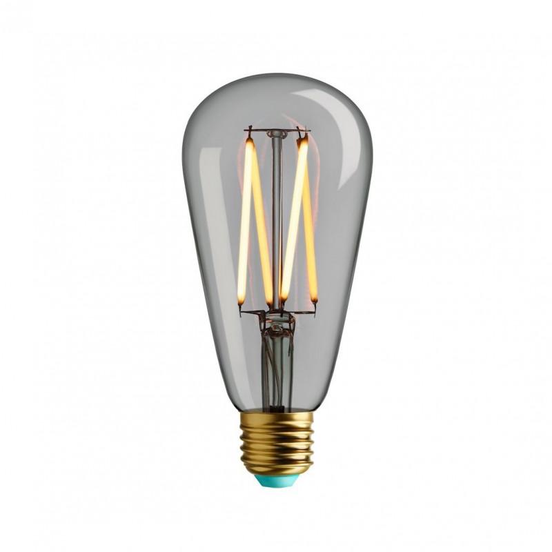 Dekoracyjna żarówka LED 4,5W Plumen WattNott Willis przezroczyste szkło, ciepła barwa światła ST64