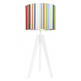 Colorful strings table lamp