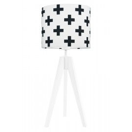 Black sharps table lamp