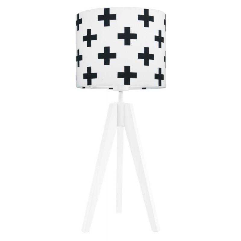 Black sharps table lamp