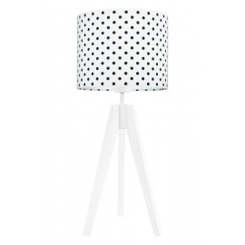 Black dots table lamp