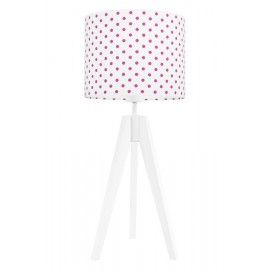 Amaranth dots table lamp