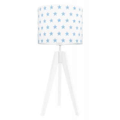 Lampa na stolik gwiazdki błękitne