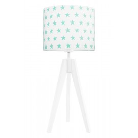 Mint stars table lamp