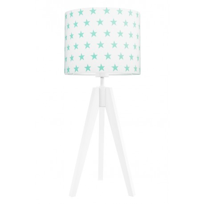 Mint stars table lamp