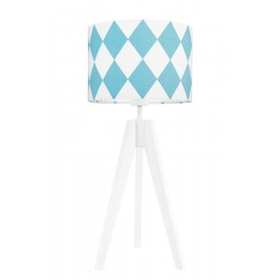 Turquise diamonds table lamp