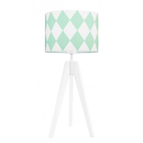 Mint diamonds table lamp
