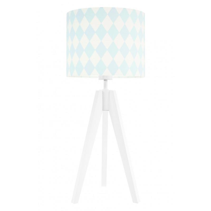 Lampa na stolik romby pastelowe