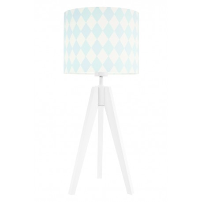 Pastel diamonds table lamp