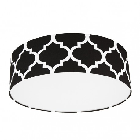 Black  Moroccan Clover Plafond Ceiling Lamp