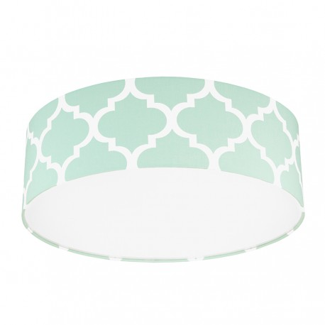 Mint Moroccan Clover Plafond Ceiling Lamp