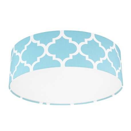 Turquise Moroccan Clover Plafond Ceiling Lamp
