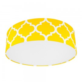 Yellow Moroccan Clover Plafond Ceiling Lamp