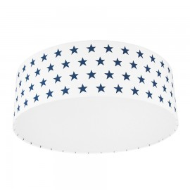 Navy blue Stars Plafond Ceiling Lamp