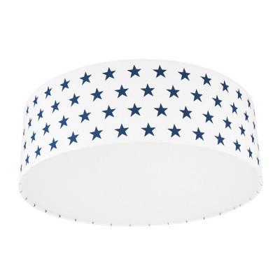 Navy blue Stars Plafond Ceiling Lamp