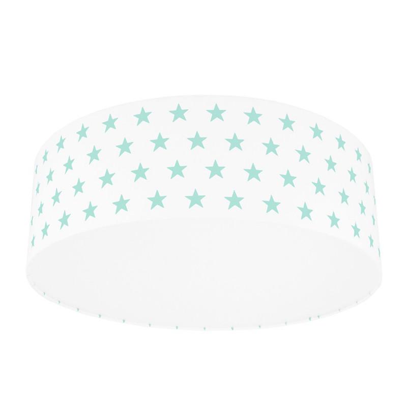 Mint Stars Plafond Ceiling Lamp