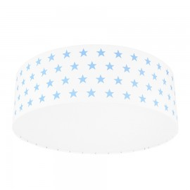 Light blue Stars Plafond Ceiling Lamp