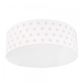 Pink Stars Plafond Ceiling Lamp