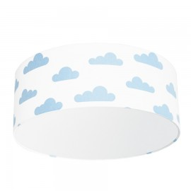 Light Blue Clouds Plafond Ceiling Lamp