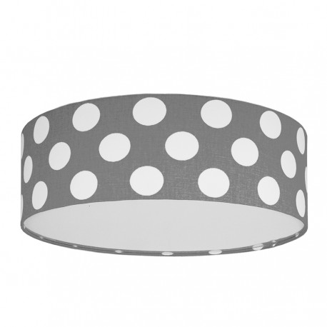 Dots on grey Plafond Ceiling Lamp