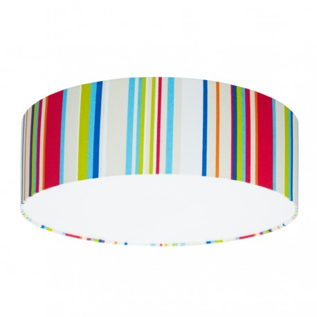 Colorful stripes Plafond Ceiling Lamp
