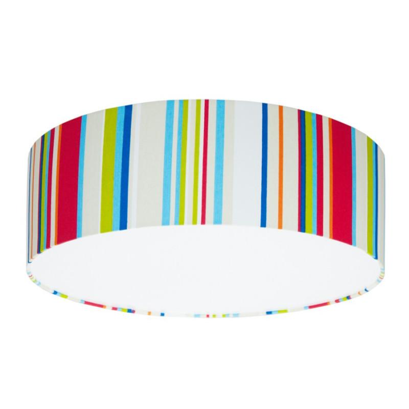 Plafon kolorowe paski