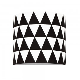 Black TRIANGLES wall lamp