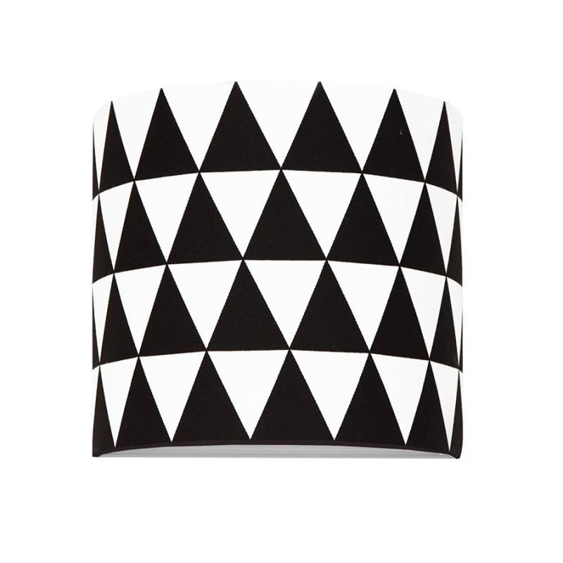 Kinkiet trójkąty czarne