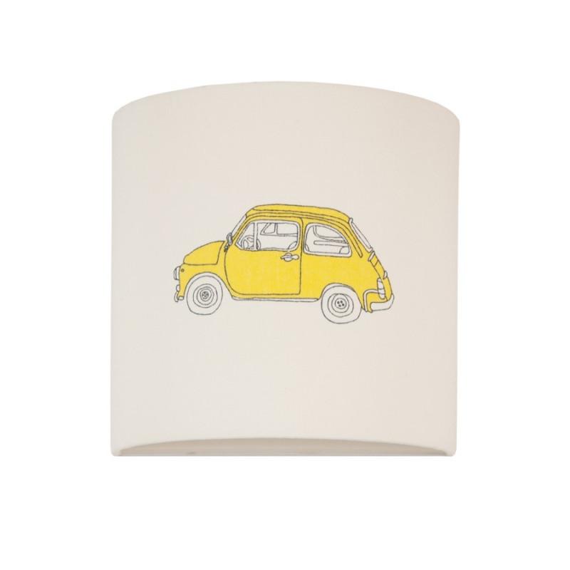 Kinkiet auto żółte