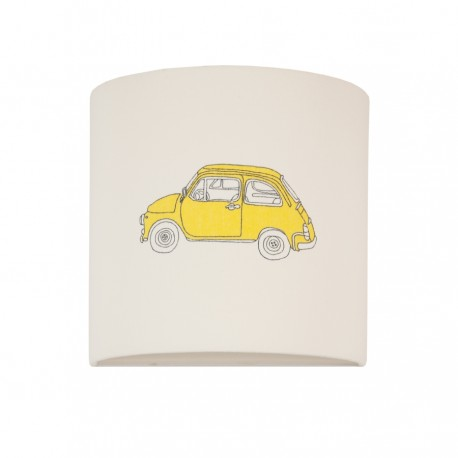 Yellow Cars wall lamp