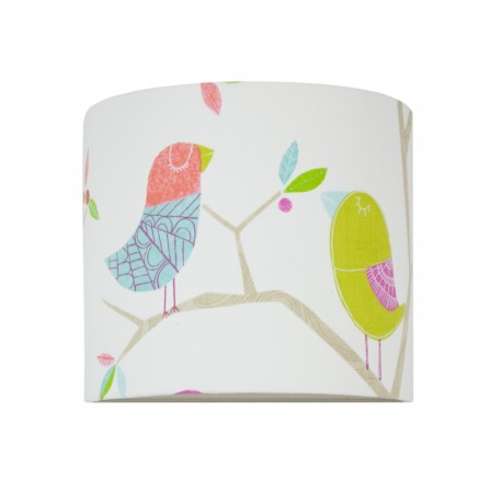 Two birds wall lamp
