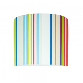 Colored stripes wall lamp