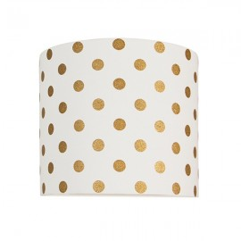 Golden dots wall lamp
