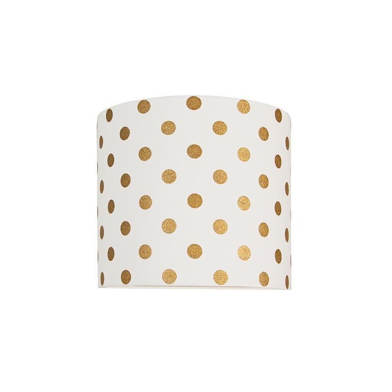 Golden dots wall lamp