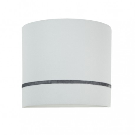 Porcelain gray wall lamp