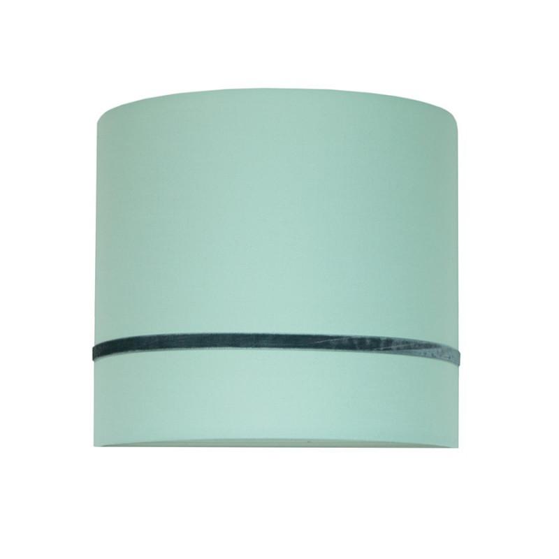 Porcelain mint wall lamp