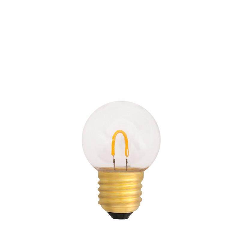 Żarówka do girland LED kulka 45mm 0,6W przezroczysta barwa ciepła
