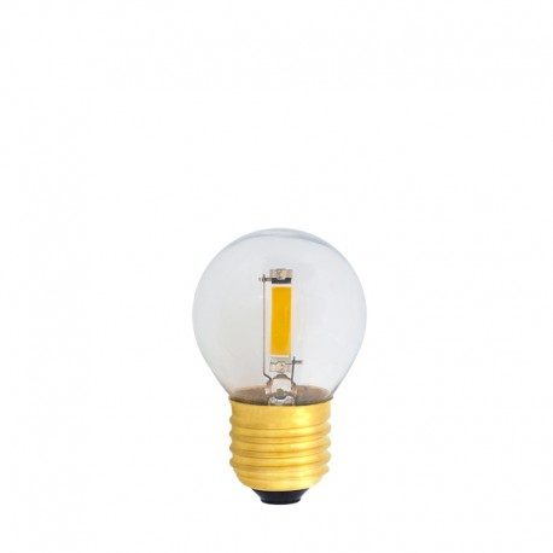 Festoon Light Bulb LED 45mm 1,2W transparent, warm light