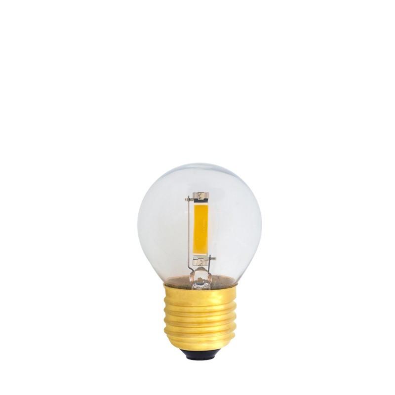 Żarówka do girland LED kulka 45mm 1,2W przezroczysta, barwa ciepła