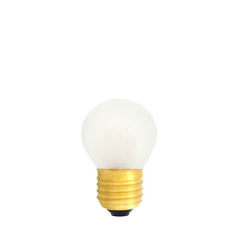 Żarówka do girland LED kulka 45mm 0,7W szroniona, barwa ciepła