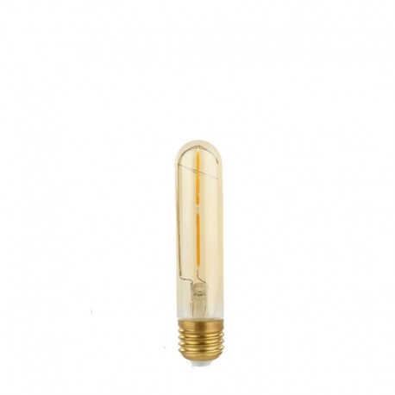 Żarówka dekoracyjna eco Gold Retro Shine LED Tube T30 30x184mm 2W