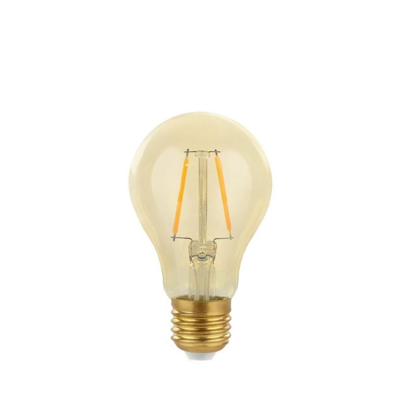 Light Bulb Gold Retro Shine LED 60mm 2W warm
