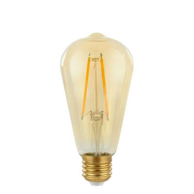 Żarówka dekoracyjna eco Gold Retro Shine LED ST64 64mm 2W