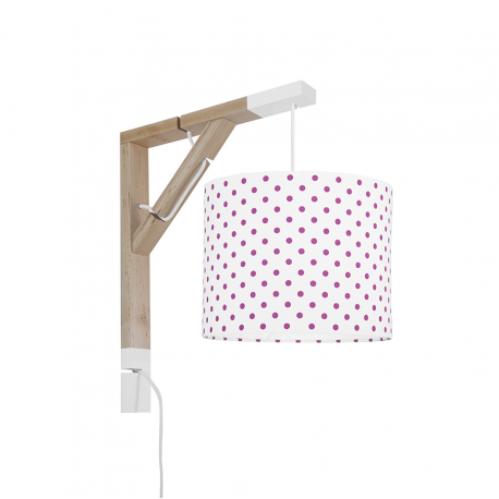 Wall lamp Simple Amaranth Dots