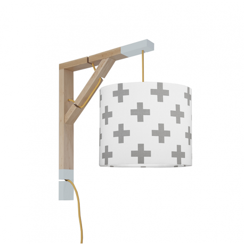Wall lamp Simple Grey Sharps