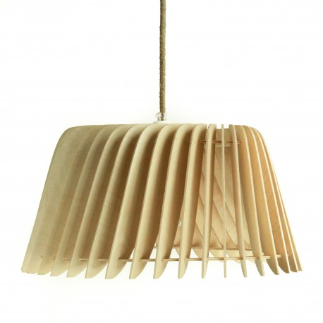 Lampshade made of birch plywood TYWA Soute